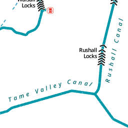 Walsall Canal Canal River Trust
